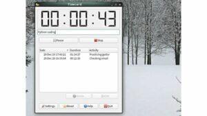 Como instalar o app de controle de tempo Timecard no Linux via Flatpak