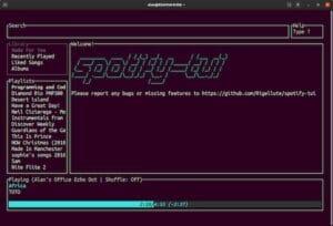 Como instalar o cliente CLI Spotify TUI no Linux via Snap