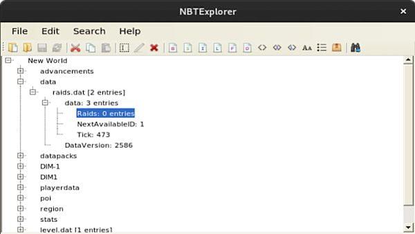 Como instalar o editor NBT NBTExplorer no Linux via Flatpak