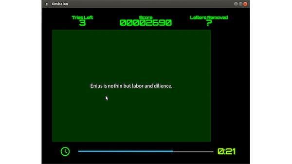 Como instalar o jogo de quebra-cabeça Omission no Linux via Flatpak