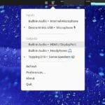 Como instalar o Sound Switcher Indicator no Linux via Snap