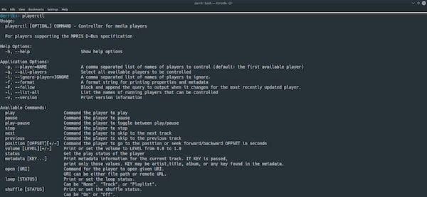 Como instalar o utilitário Playerctl no Linux via Flatpak
