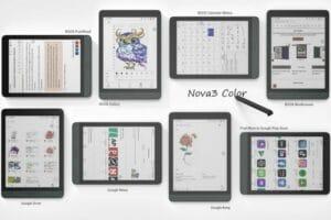 Conheça Onyx BOOX Nova3 Color, um tablet Android E Ink Color de 7.8 polegadas e eReader com suporte para caneta