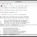 GNU Emacs 27.2 lançado como uma nova versão de manutenção