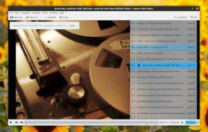 Haruna 0.6.0 lançado com suporte para MPRISv2 e playlists do YouTube