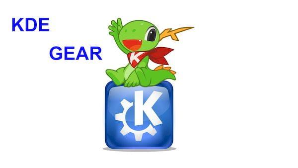 KDE Applications foi oficialmente renomeado para KDE Gear
