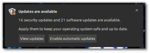 Linux Mint terá um novo sistema de notificação para atualizações