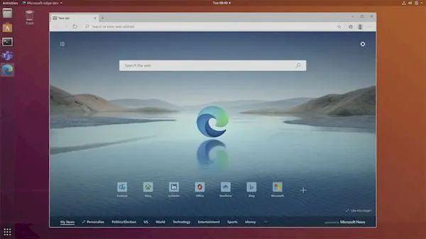 Microsoft anunciou atualização importante do Microsoft Edge para Linux