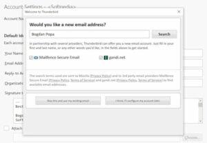 Thunderbird recebeu integração do Mailfence para e-mail criptografado
