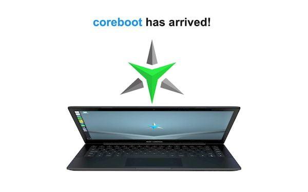 Proprietários do Star LabTop Mk III também receberão suporte a Coreboot