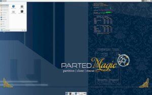 Parted Magic 2021_02_28 lançado com correção para problema de inicialização