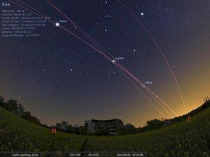Stellarium 0.21.0 lançado com Lunar Libration e muito mais