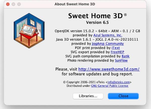 Sweet Home 3D 6.5 lançado com correções de erros e algumas melhorias