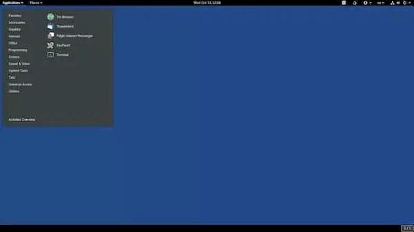 Tails 4.17 lançado com reparo do sistema de arquivos na inicialização