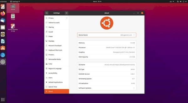 Ubuntu 21.04 usará o GNOME 3.38 com aplicativos GNOME 40