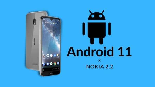 Atualização do Android 11 já está disponível para o Nokia 2.2
