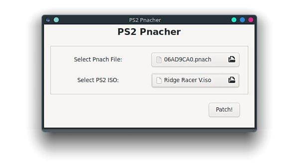 Como instalar o aplicador de patch PS2 Pnacher no Linux via Flatpak