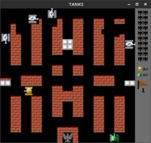 Como instalar o clássico jogo Tanks no Ubuntu, Debian e derivados