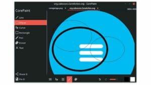 Como instalar o editor de imagens CorePaint no Linux via Flatpak