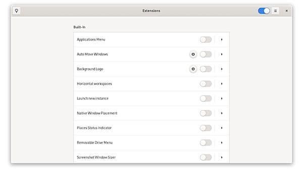 Como instalar o GNOME Extensions no Linux via Flatpak