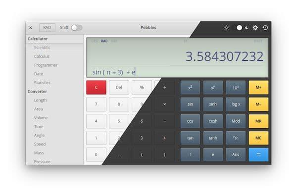 Como instalar o software de cálculos Pebbles no Linux via Flatpak