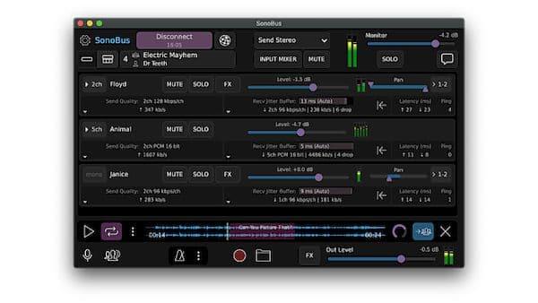 Como instalar o streamer de áudio SonoBus no Linux via Flatpak