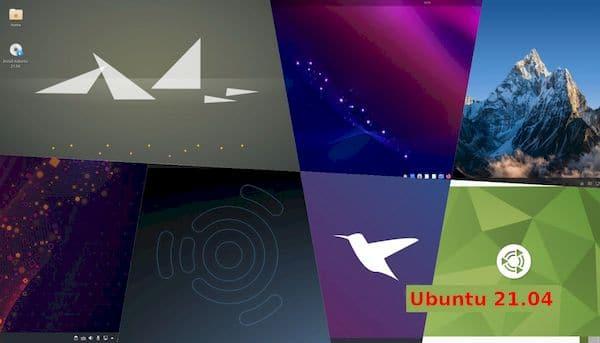 Confira as novidades dos sabores/derivados do Ubuntu 21.04