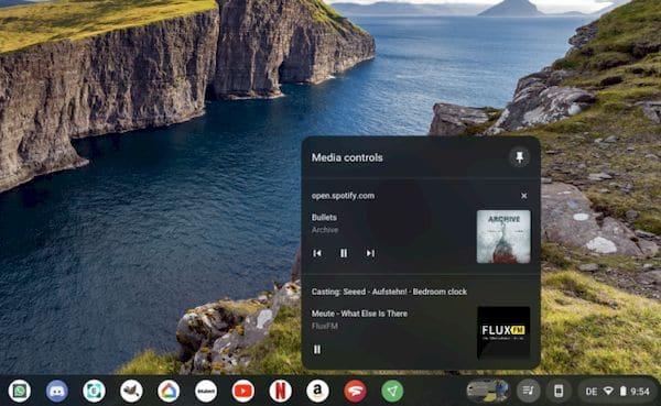 Google está renovando os controles de mídia no Chrome e Chromebooks