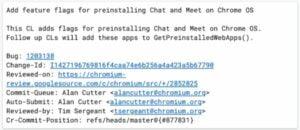 Google irá oferecer o Meet e Chat pré instalados em futuros Chromebooks
