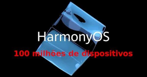 Harmony OS será instalado em 100 milhões de dispositivos este ano, diz a Huawei