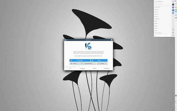 KaOS 2021.04 lançado em comemoração ao oitavo aniversário da distro