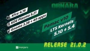 Manjaro 21.0.2 lançado com Plasma 5.21.4 e apps GNOME 40 atualizados