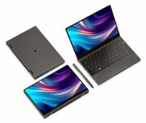 Mini laptop One Mix 4 agora está disponível com até Core i7-1160G7