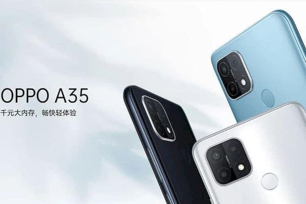 Oppo apresentou o Oppo A35 com SoC Helio P35, câmera tripla e mais