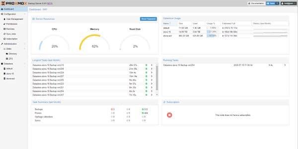 Proxmox Backup Server 1.1 lançado com base no Debian 10.9 e mais