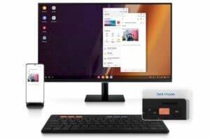 Samsung Smart Keyboard Trio 500 com um botão DeX é feito para tablets, telefones e PCs