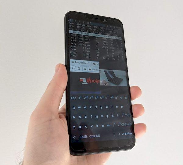 Sxmo 1.4 lançado com melhorias no teclado, tela e renderização de texto