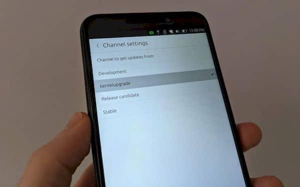Ubuntu Touch para o PinePhone está mudando para um novo kernel