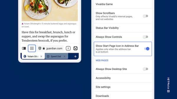 Vivaldi 3.8 lançado com um recurso para te livrar dos banners de cookies