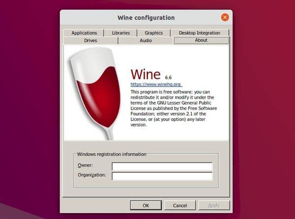 Wine 6.6 Lançado com suporte a Driver Plug & Play melhorado e mais