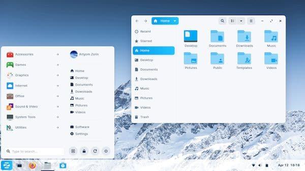 Zorin OS 16 beta lançado com novo visual e melhorias de desempenho