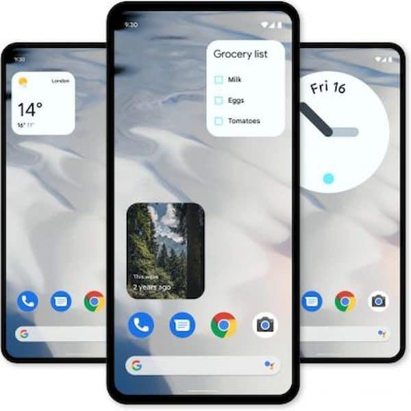 Android 12 terá uma grande atualização na interface do usuário