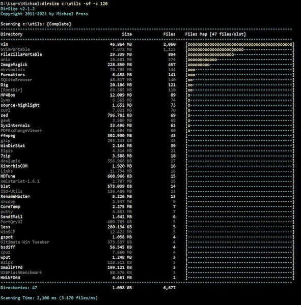 Como instalar a ferramenta de relatório de diretório DirSize no Linux