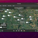 Como instalar o app de previsão do tempo Vremenar no Linux via Flatpak