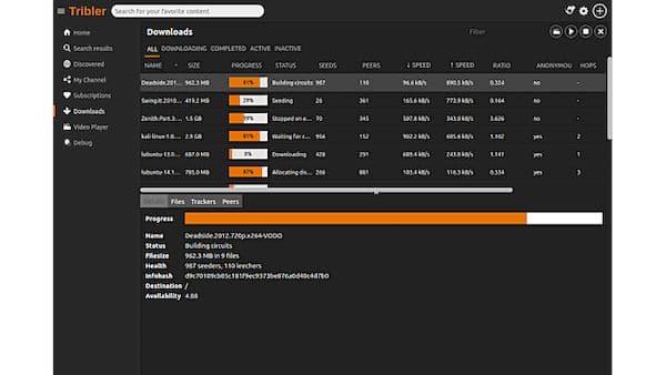 Como instalar o cliente Bittorrent Tribler no Linux via Flatpak