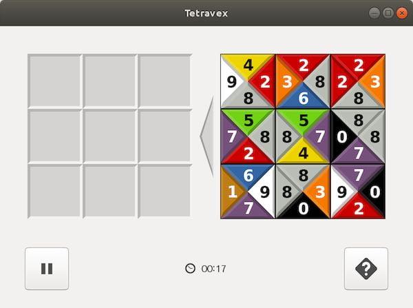 Como instalar o jogo GNOME Tetravex no Linux via Snap