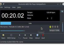 Como instalar o reprodutor de arquivos MIDI dmidiplayer no Linux