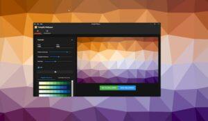 Como instalar o Trianglify Wallpaper no Linux via Snap
