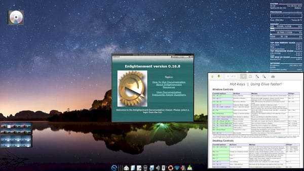 Elive 3.8.20 Beta lançado com kernel atualizado e correções