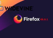 Firefox 88.0.1 lançado para resolver problemas com conteúdo protegido
